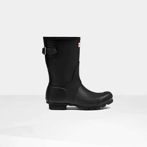 Hunter Women's Original Short Back Adjustable Rain Boots by Hunter