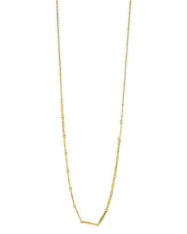 Gorjana Balboa Bar Necklace (Gold) by Gorjana