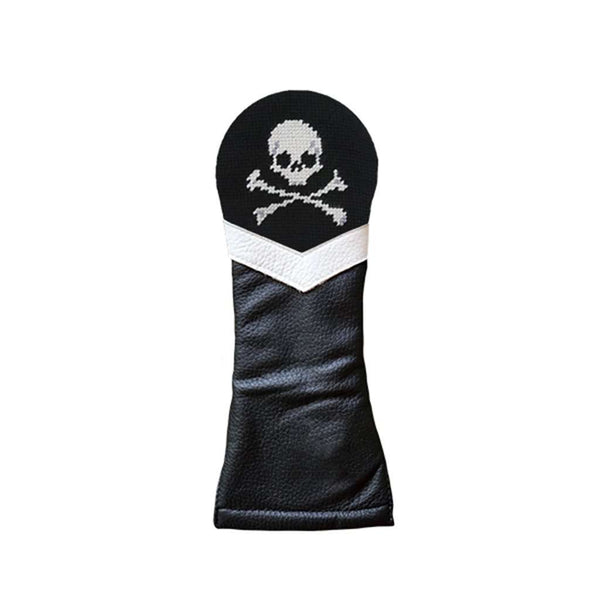 Jolly Roger Needlepoint Hybrid Headcover by Smathers & Branson