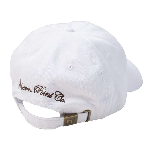 SPC White Twill Hat by Southern Point Co. - FINAL SALE