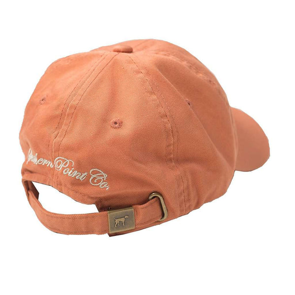 SPC Orange Twill Hat by Southern Point Co. - FINAL SALE