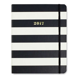 2017 - 17 Month Large Agenda in Black Stripe by Kate Spade New York  - 1
