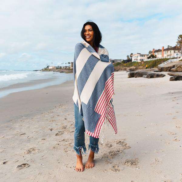 Sand Cloud Freedom Towel by Sand Cloud