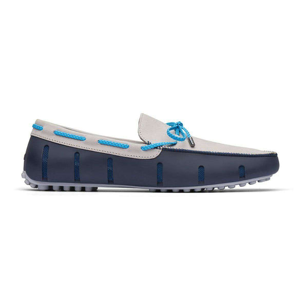 SWIMS Braided Lace Lux Loafer Driver Nubuck by SWIMS