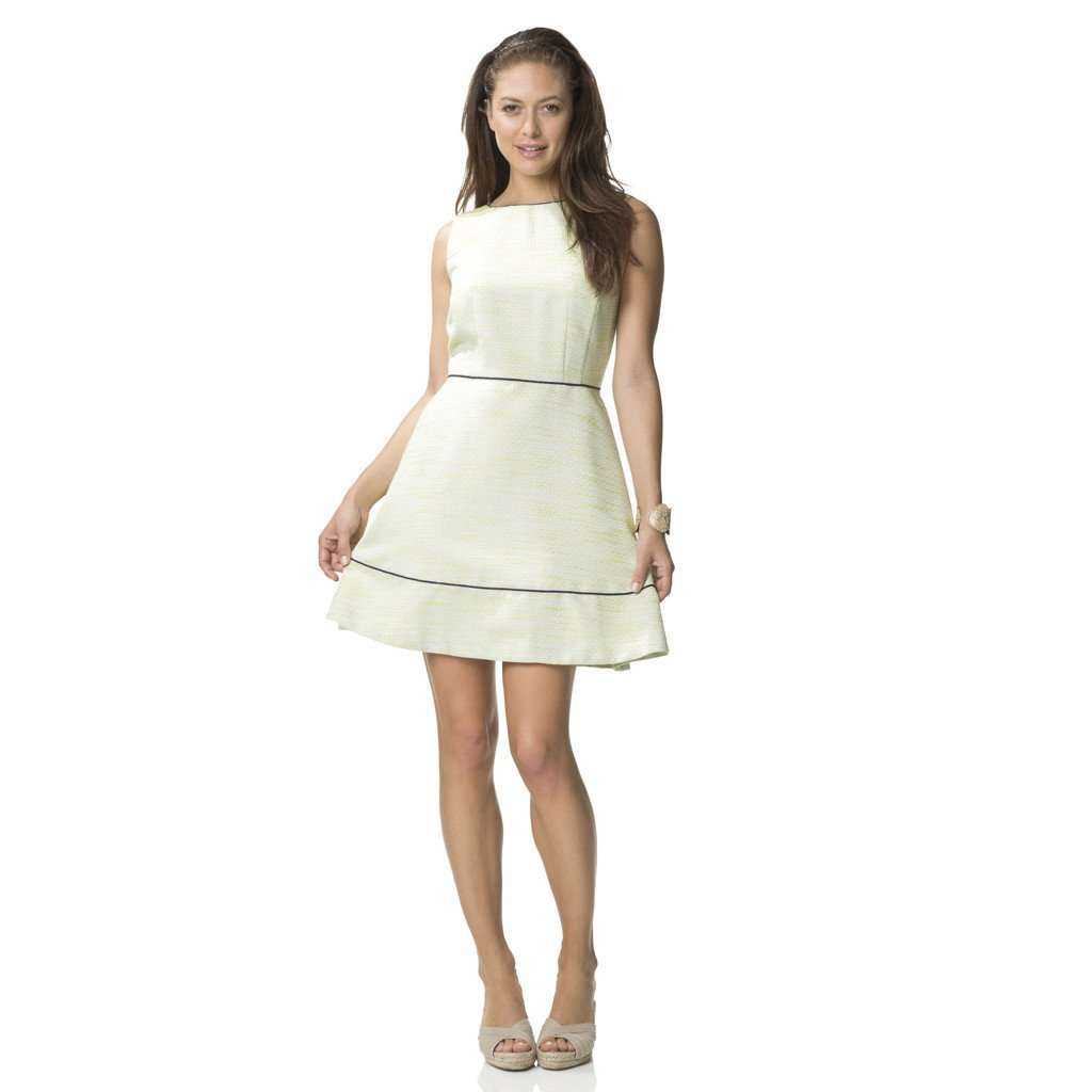 Resort Flare Dress in Limeade by Sail to Sable