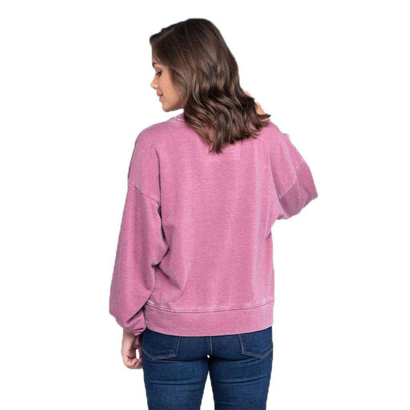 The Southern Shirt Co. Bella Burnout Sweater by The Southern Shirt Co.