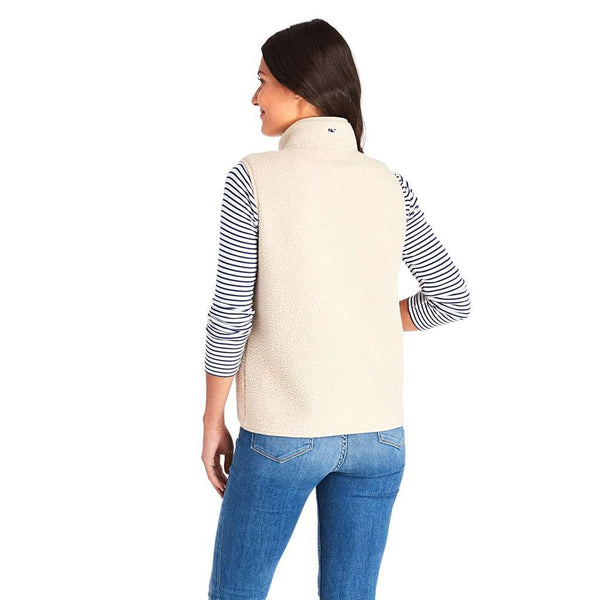 Vineyard Vines Sherpa Harbor Vest by Vineyard Vines