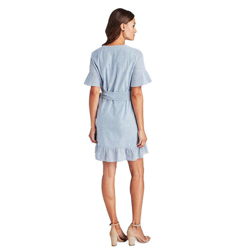 Vineyard Vines Seersucker Wrap Dress by Vineyard Vines