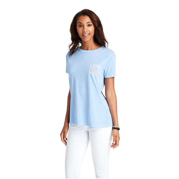 Vineyard Vines Women's Radiant Whale Pocket Tee by Vineyard Vines