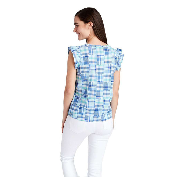 Vineyard Vines Flutter Sleeve Top by Vineyard Vines