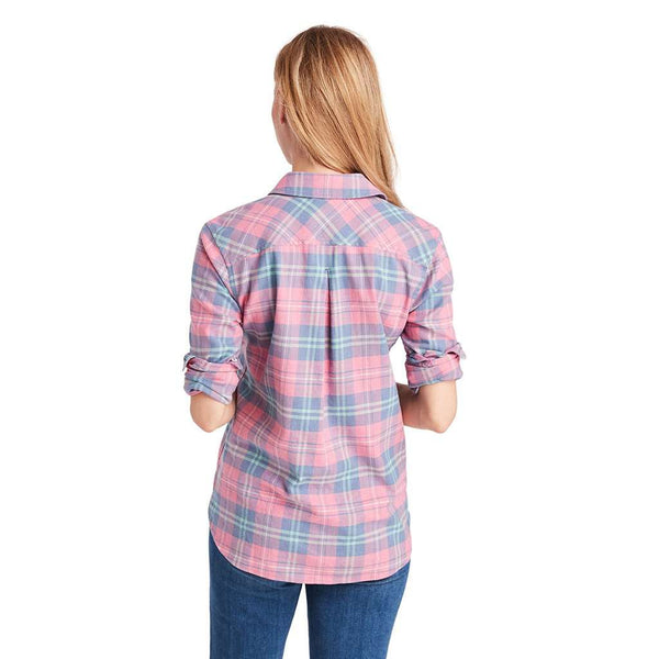 Vineyard Vines Pacific Plaid Chilmark Relaxed Button Down by Vineyard Vines