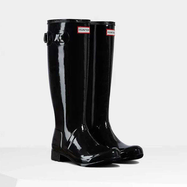 Hunter Women's Original Tall Gloss Rain Boots by Hunter