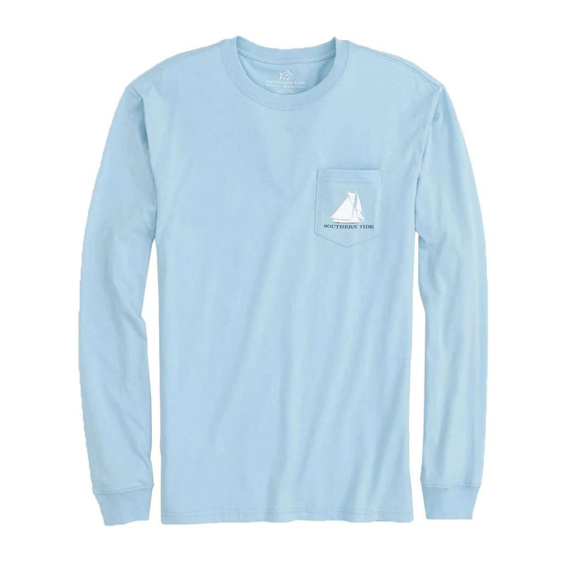 Southern Tide Long Sleeve Five Sails Up T-Shirt by Southern Tide