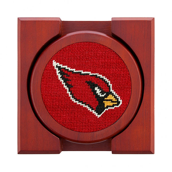 Arizona Cardinals Needlepoint Coasters by Smathers & Branson