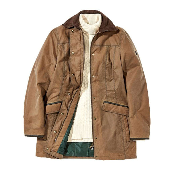 Dubarry of Ireland Women's Baltray Waxed Cotton Jacket in Cigar
