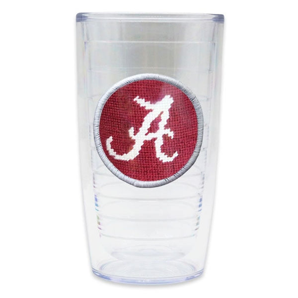 University of Alabama Needlepoint Tumbler by Smathers & Branson
