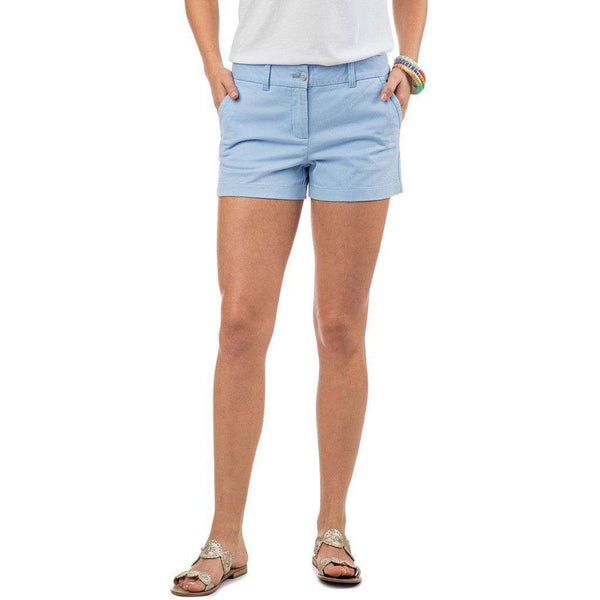 "3"" Leah Short in Sky Blue by Southern Tide"