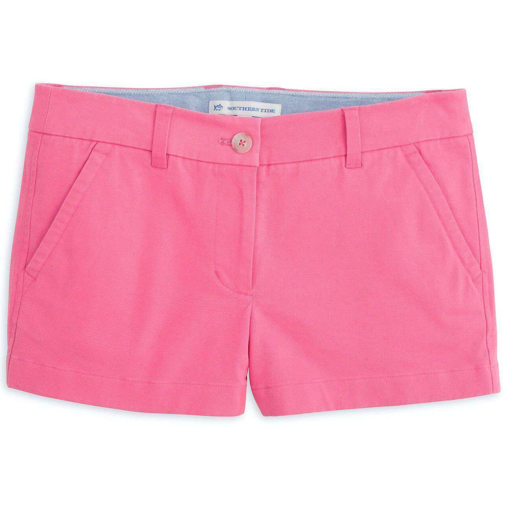 "3"" Leah Short in Berry by Southern Tide"