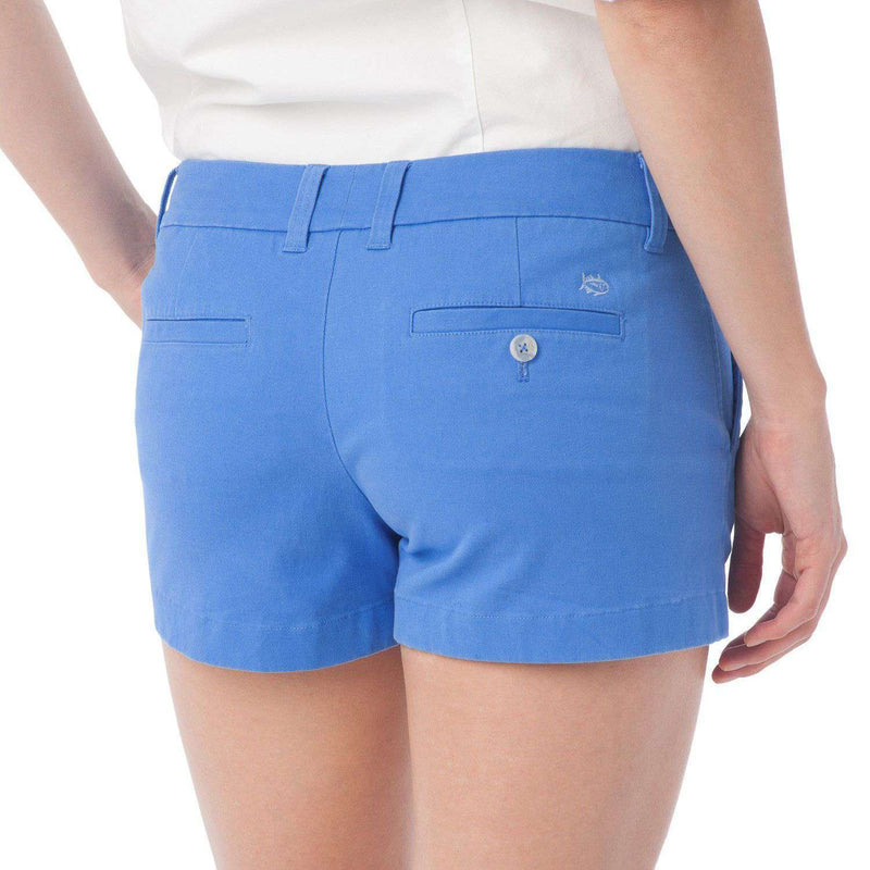 "3"" Leah Short in Blue Stream by Southern Tide  - 2"