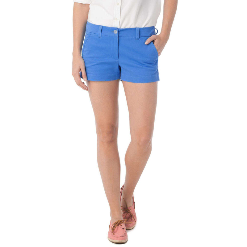 "3"" Leah Short in Blue Stream by Southern Tide  - 1"