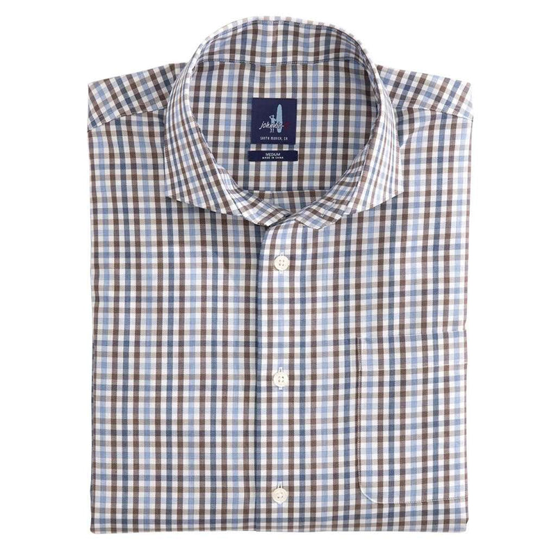 Johnnie-O Pratt Cutaway Collar Oxford Shirt by Johnnie-O