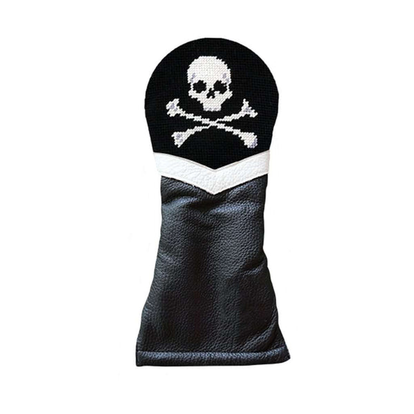 Jolly Roger Needlepoint Fairway Wood Headcover by Smathers & Branson