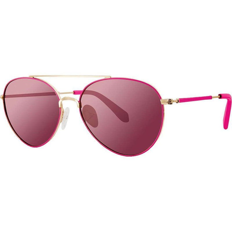 Isabelle Sunglasses in Raz Berry With Pink Lenses by Lilly Pulitzer