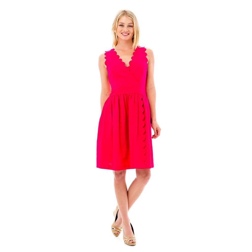 The Harbour Island Dress in Hot Pink by Elizabeth Mckay