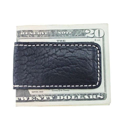 Country Club Prep Vegas Bison Money Clip in Black