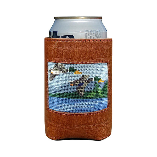 Great Outdoors Needlepoint Can Cooler by Smathers & Branson