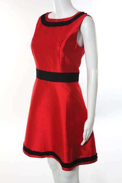 Rejoice in Red Ribbons Dress by Sail to Sable - FINAL SALE