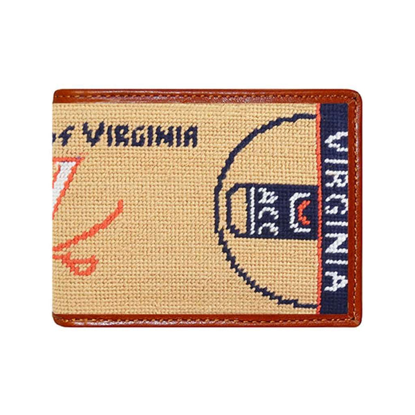 Smathers and Branson UVA Paul Jones Arena Needlepoint Wallet by Smathers & Branson