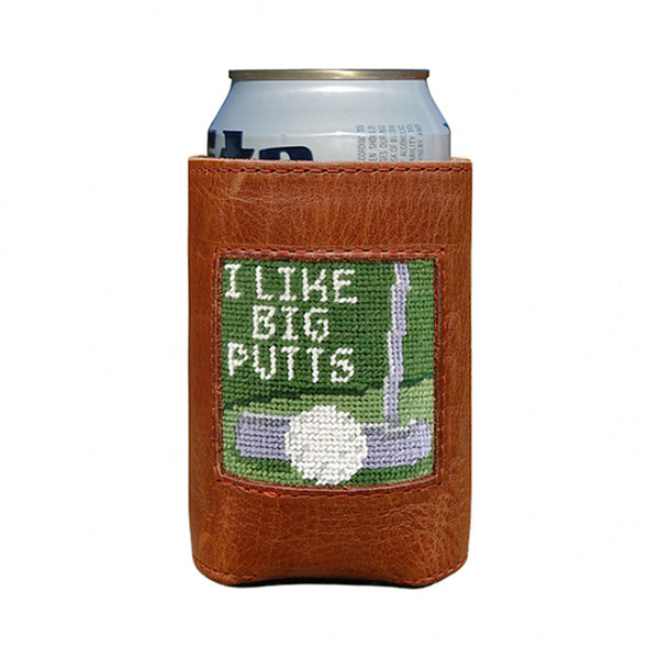 Big Putts Needlepoint Can Cooler by Smathers & Branson