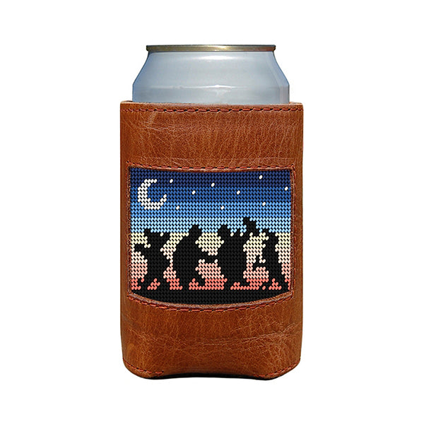 Grateful Dead Moondance Needlepoint Can Cooler by Smathers & Branson