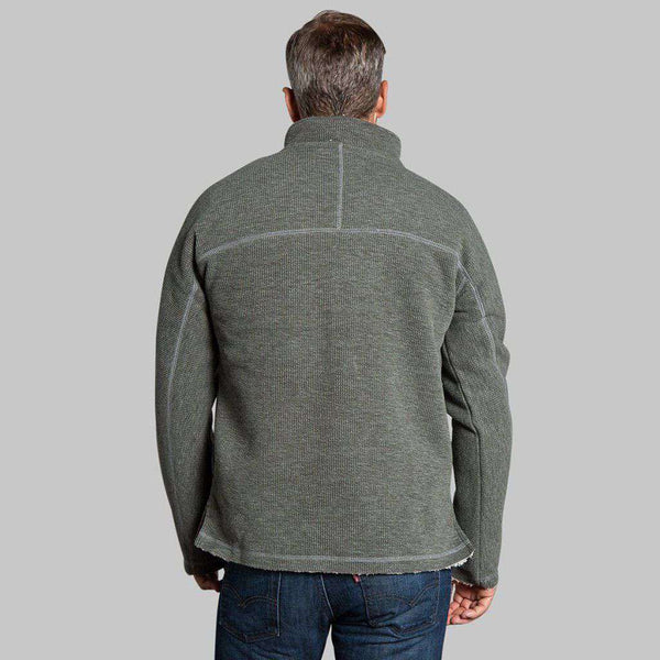 True Grit Bonded Vintage Cord 1/4 Zip Pullover by True Grit