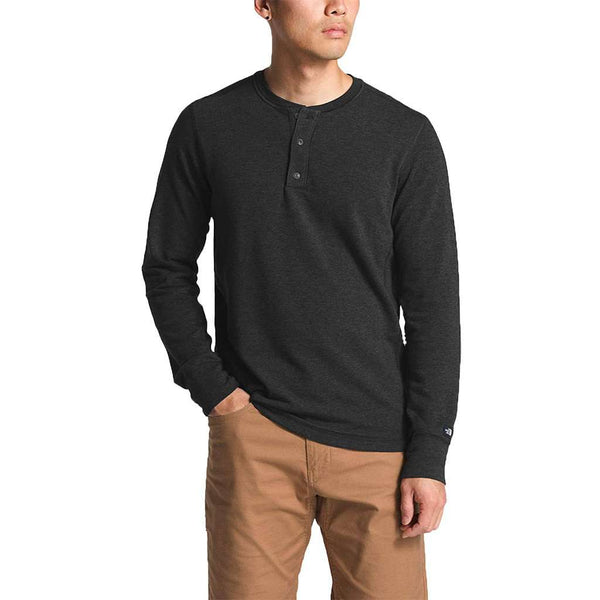 The North Face Men's Long Sleeve TNF™ Terry Henley by The North Face