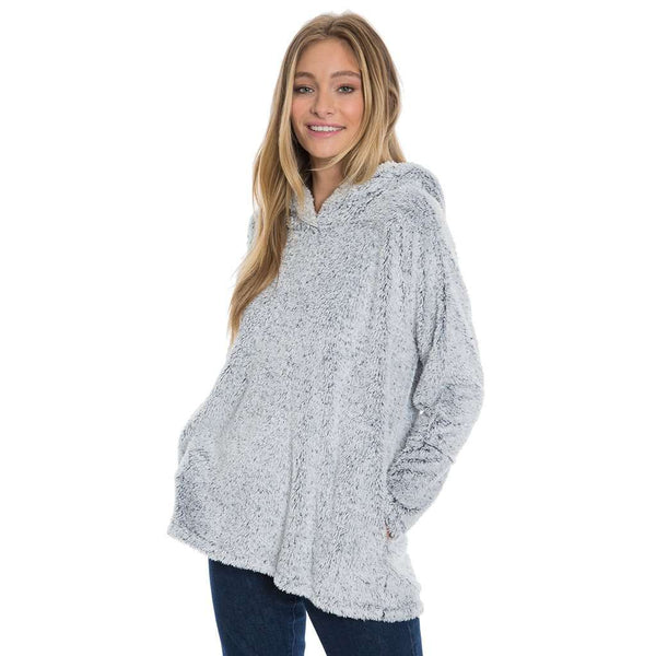 True Grit Long Cozy Shag Sherpa Hoodie by Dylan (True Grit)