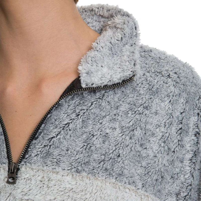 True Grit Tipped Shag Sherpa Pullover by Dylan (True Grit)