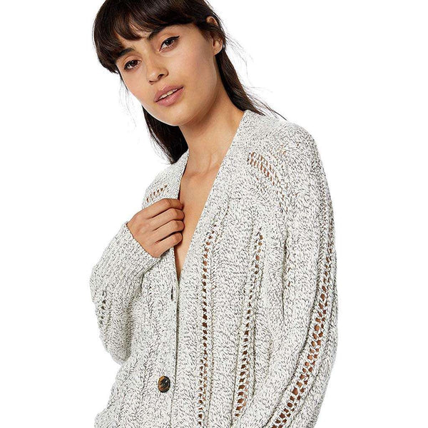 Cupcakes and Cashmere Venice Cable Knit Cardigan by Cupcakes and Cashmere