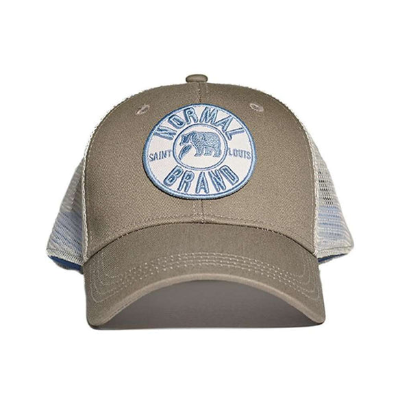 The University Bear Cap in Grey by The Normal Brand