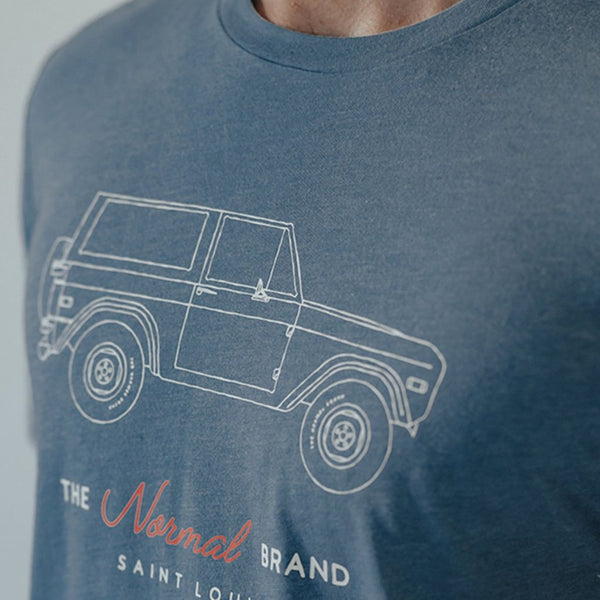 Bronco Short Sleeve Pocket Tee by The Normal Brand