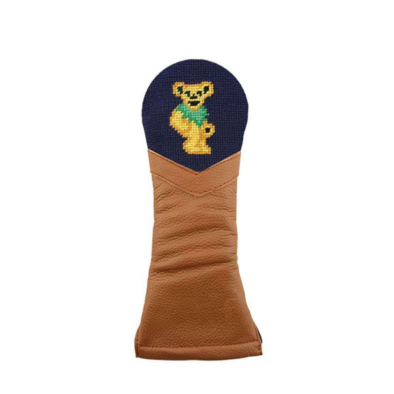 Dancing Bear Needlepoint Hybrid Headcover by Smathers & Branson