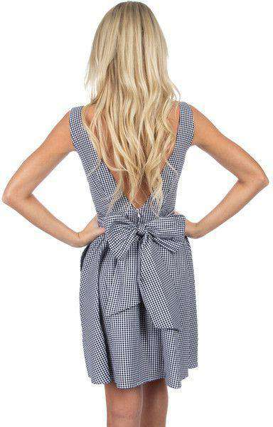 The Emerson Gingham Dress in Black by Lauren James - FINAL SALE