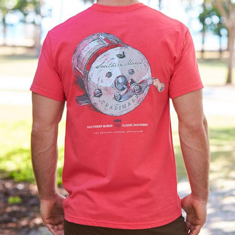 Southern Class - Fishing Reel Tee by Southern Marsh - FINAL SALE