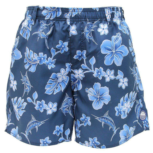 Boatbar Swim Trunks in Midnight by AFTCO - FINAL SALE