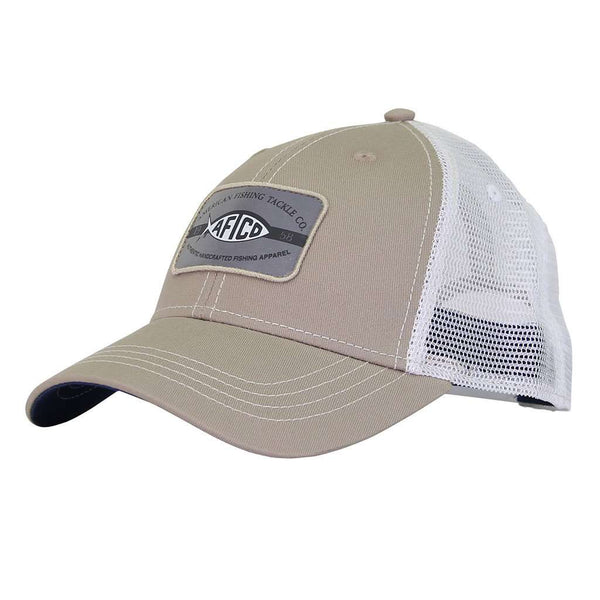 AFTCO Patch Trucker Hat in Khaki