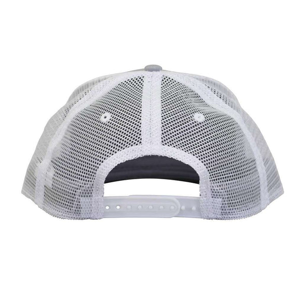 Patch Trucker Hat in Light Gray by AFTCO
