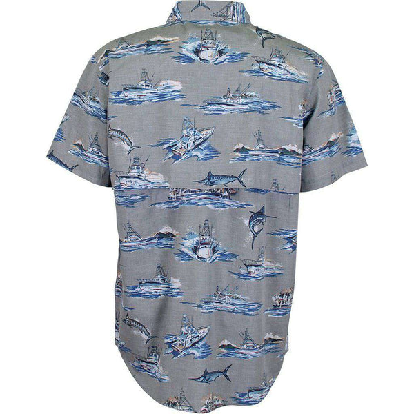 AFTCO Boatbar Short Sleeve Tech Shirt khaki