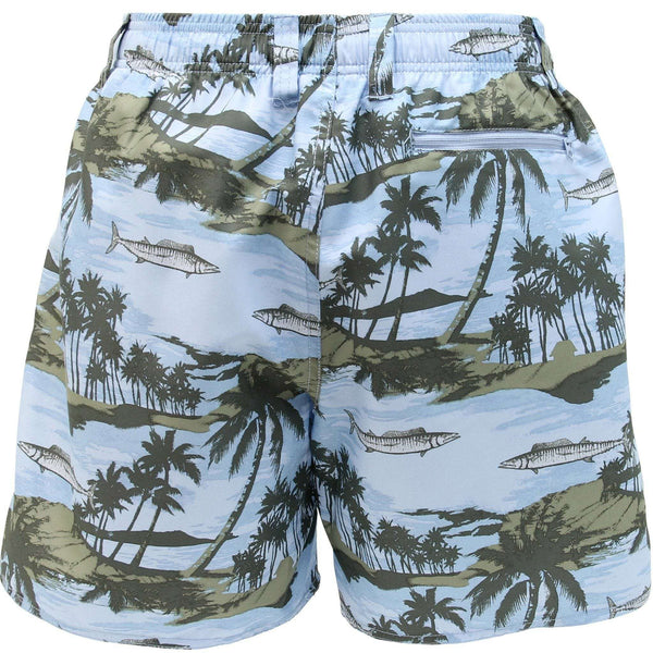 Boatbar Swim Trunks in Sky Blue by AFTCO