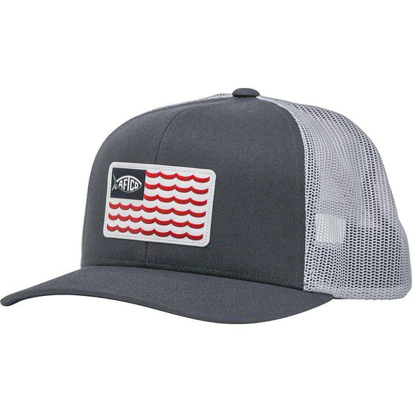 AFTCO Canton Trucker Hat charcoal